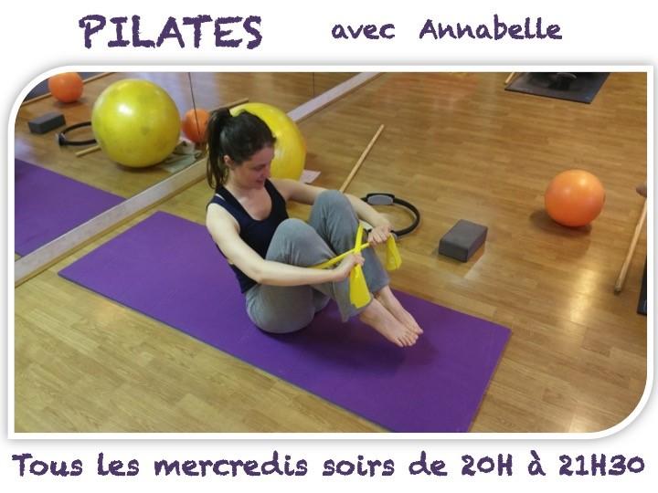 Pilates avec Annabelle