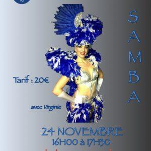 STAGE DE SAMBA NO PE