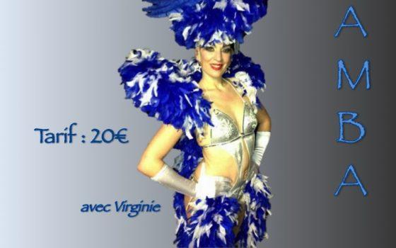 Dimanche 24 novembre Stage de Samba No Pe