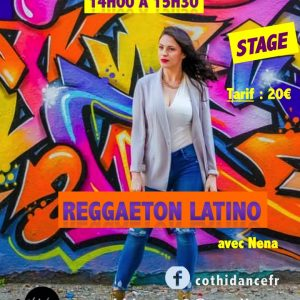 Dimanche 17 mars Stage de Reggaeton latino