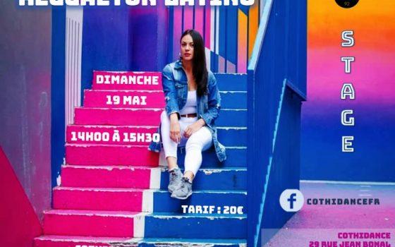 Dimanche 19 mai Stage de Reggaeton latino